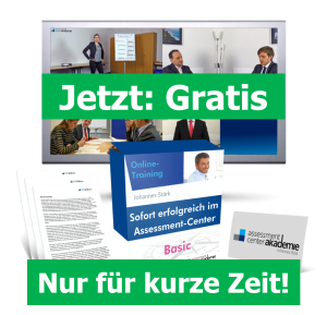 Übungen Assessment-Center gratis