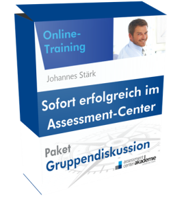 Das Online-Training zur Assessment-Center-Gruppendiskussion