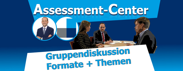 Gruppendiskussion im Assessment-Center