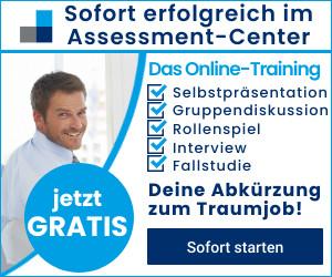 Kostenloses Assessment-Center-Training