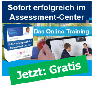 Kostenloses Assessment-Center-Training Johannes Stärk